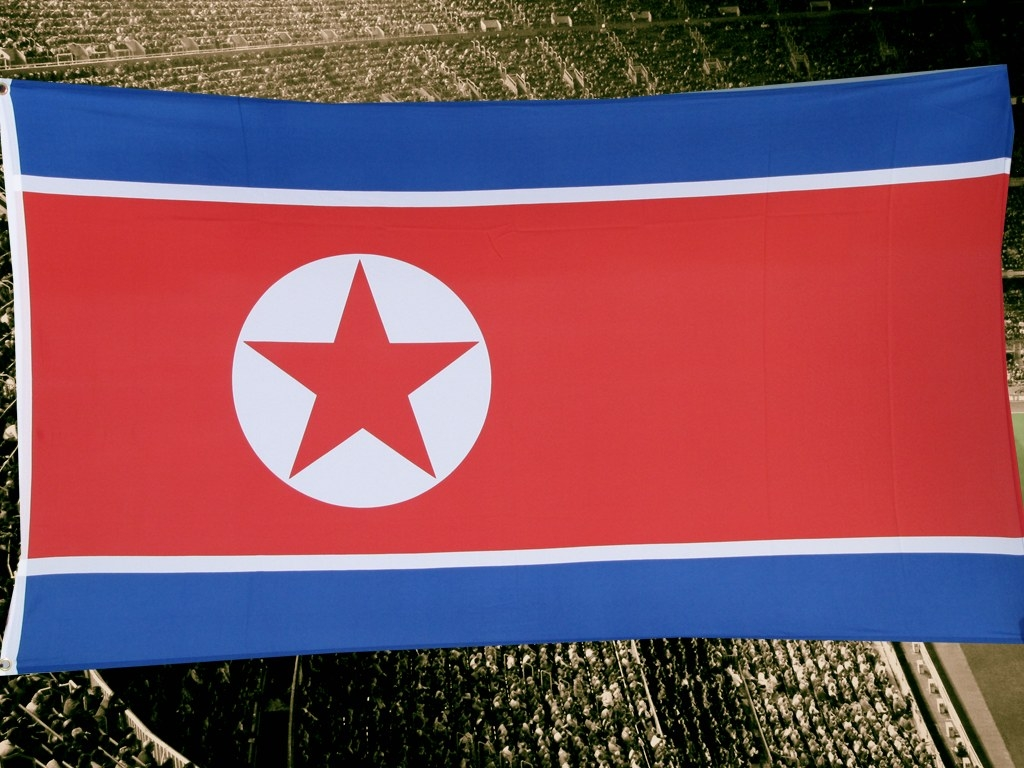 Flag 'North Korea' GROMMIT