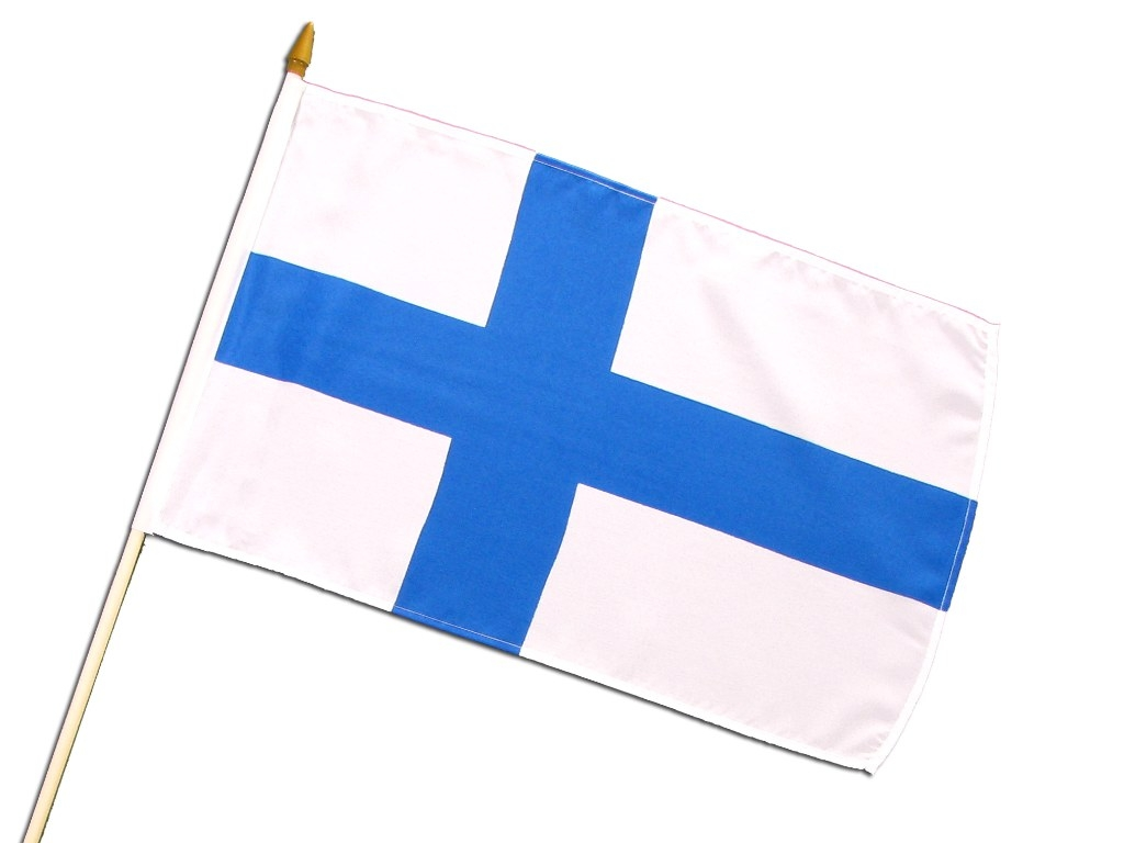 Hand-Flag 'Finland'