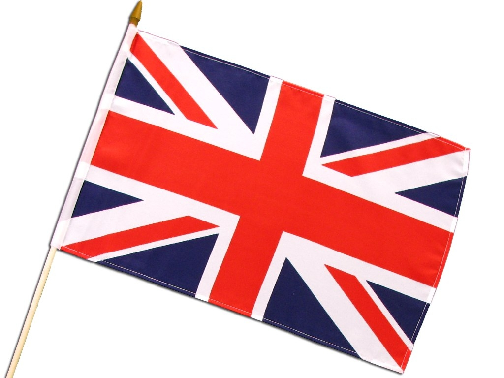 Hand-Flag 'Great Britain'