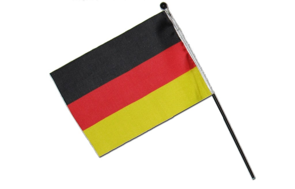 Small German flag approx. 21x16cm