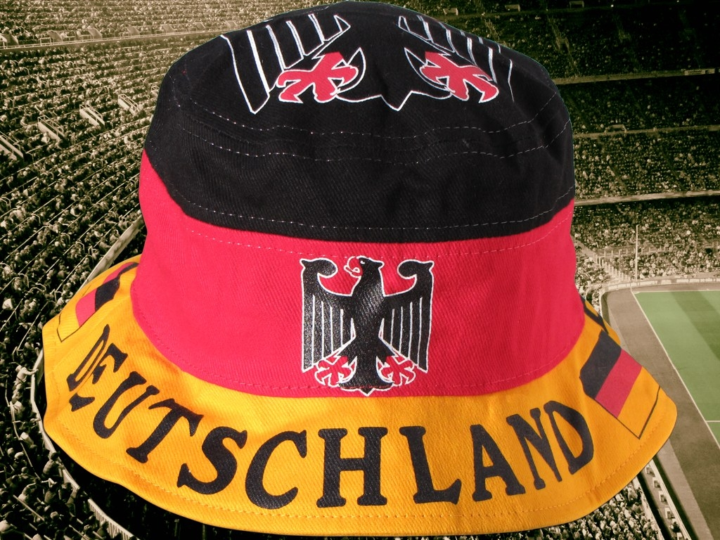 Sonnenhut Deutschland Fan supporter fisher bucket sun hat bonne Germany Allemagne