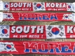 Jacquard Fan-Scarf 'South Korea'