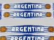 Jacquard Fan-Scarf 'Argentina'